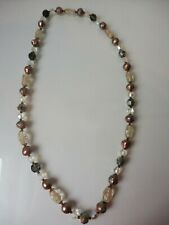 Very Beautiful Chain (Necklace) __ Glass Colored __ W.Muranoglas __