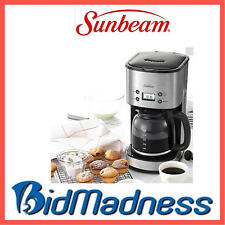 NEW SUNBEAM PC7900 STAINLESS PROGRAMMABLE DROP FILTER COFFEE MACHINE  2 YRS WNTY