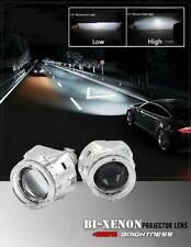 2.5 inch bi xenon Projector lens with DRL LED angel eyes for H1 H4 H7