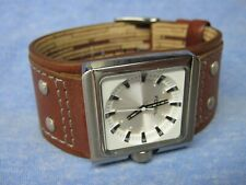 Men's FOSSIL Water Resistant Wristband Watch w/ New Battery