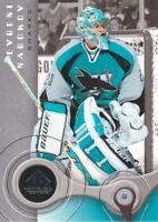 2005-06 SP Game Used Hockey #83 Evgeni Nabokov San Jose Sharks