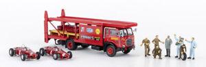 BREKINA 58475 Fiat 642 Camion Transporter ''Ferrari'' Auto Et Caractères Ho 1 :