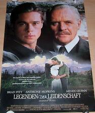 LEGENDEN DER LEIDENSCHAFT original Kino Plakat A1 gerollt