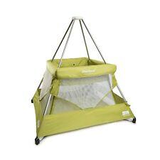 Original Stock BabyHub SleepSpace Playpen, Travel Cot, Mosquito Net, Tepee Kiwi