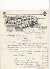 Other British Automobile Ads 1955 Armstrong Siddeley Letterhead Coventry Marriott Brothers Sheffield Attic Advertising