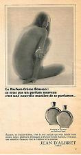 PUBLICITE  1966   JEAN D'ALBRET   parfum creme ECUSSON