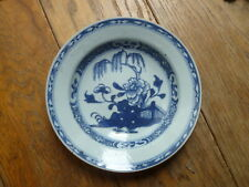CHINA, 18TH CENTURY CHINESE BLUE & WHITE EXPORT PORCELAIN SMALL DISH