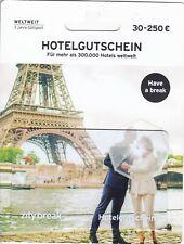 Hotelgutschein  leer