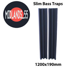 2 Pro SLIM Acoustic Foam 3 ft 11¼ in (1200mm) Bass Traps Sound Treatment