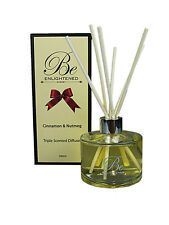 New diffuser Cinnamon & Nutmeg Triple Scented Diffuser 200ml by Be Enlightened