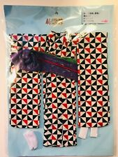 Licca Castle Little Factory 2017 Geometric Print Kimono Nrfp fits Jenny Barbie