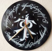 LORD OF THE RINGS inspired record wall clocks.. .Twin Towers.. . J.R.R.TOLKIEN