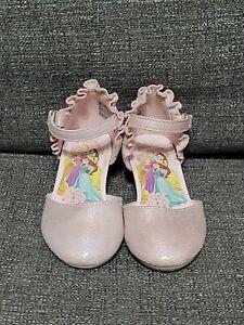Disney Princess Heels Dress Shoes Toddler Girls Size 7