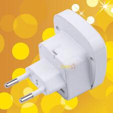 New Universal AUS UK US EURO to Brazil EU Russia 2 Pin Travel Power Adapter Plug
