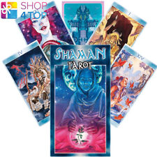 SHAMAN TAROT DECK CARDS ARIGANELLO FILADORO ESOTERIC FORTUNE ORACLE TELLING NEW