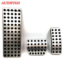 AT Foot Rest Gas Brake Pedal Pads Cover For Infiniti QX30 14-19 Benz GLA A 16-19