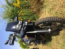 Adventure bike BMW F800GS