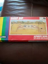 RARE 1980'S BRITAINS 7160 SHEEP DIP COMPLETE vgc plastic models boxed