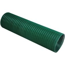 More details for green pvc coated welded wire mesh garden pet dog cat bird aviary rabbit fencing