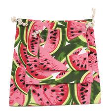 Watermelon Pattern Travel Laundry Shoe Pouch Drawstring Anti-Dust Storage Bag 6A