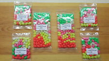 50 x 12mm - 8mm Extra Large Mixed Oval Lumi Fishing Beads.Biggest listed on Ebay