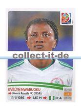 Panini Frauen WM World Cup 2015  - Sticker 320 - Evelyn Nwabuoku