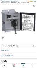 Reliance Controls Csr202 Easytran Transfer Switch