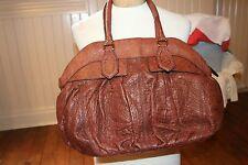 Lodis brown leather handbag  Designer handbag NWOT  LODIS 8147RE CHS33