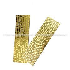 1Pc Diamond Plate Ti Titanize Knife Sharpening Stone Whetstone Grit 150/600 S3