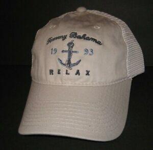 Tommy Bahama trucker baseball Cap hat putty