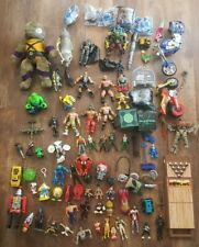 Huge mixed random lot of toys. 100 peices. See Pictures. TMNT WWE Power Rangers