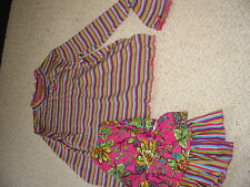 NWT Hanna Andersson French Flowers Set - Size 150