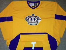 VTG AUTHENTIC LOS ANGELES LA KINGS 1971-1972 MITCHELL & NESS JERSEY 60 W/ FIGHT