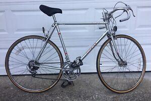 """Vintage Schwinn Men's Le Tour Bicycle 23"""" Silver Bike"""