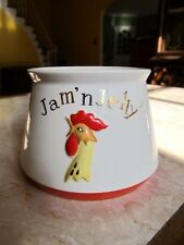 """Vintage 1962 Holt Howard """"Rooster"""" Jam 'n Jelly Container w/out Lid"""