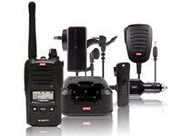 GME TX6160 5 Watt IP67 UHF CB Handheld Radio Kit