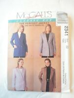 Vintage 1999 Sewing Pattern The Perfect Jacket Lined Size 22 Uncut