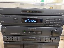 Vintage Sony XO-D20 HiFi System Tape & Record Player Deck Equalizer Phono Japan