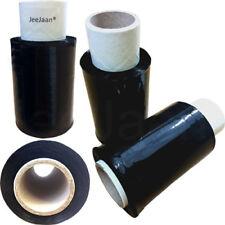 10 Black Mini Handy Wrap Pallet Wrapping Stretch Shrink Film Wrapper 100mm 17mu
