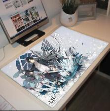 Anime Attack on Titan Levi Big Mouse Pad Play mat GAME mat Mousepad #C-67A