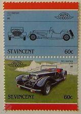 1972 Panther j-72 voiture timbres (les dirigeants du monde / auto 100)