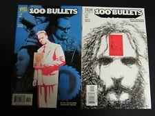 100 Bullets #20 &#21 (2001) Vertigo/DC  NM  9.4  H278
