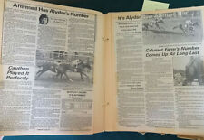1980s Horse Racing Scrapbook Anti Willie Shoemaker Pro Laffit Pincay Jockey News