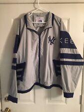 New York Yankees Vintage Pro Player Full Zip Windbreaker Jacket XXL MLB