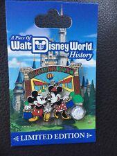 Disney Pin A Piece Of Walt Disney World History: Downtown Disney Sign New LE Pin