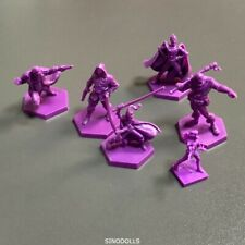 6 purple Fit For Dungeons & Dragon D&D Nolzur's Marvelous Miniatures figure Toy