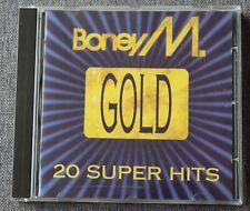 Boney M, Gold 20 super hits - best of, CD