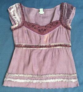 Women's Costume Short Sleeve top Juliette Ophelia Hermia Viola Renaissance Faire