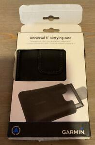 🌍 Garmin Universal 5 Carrying Case,Black,Open Box ‼️