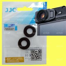 JJC Silicone Rubber Viewfinder Eyecup For Fujifilm X-Pro2 XPro2 - 2 Pieces DN